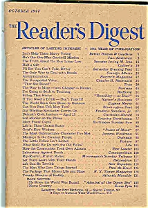 Reader's Digest - October 1947 (Image1)