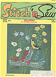 Stitch n Sew Magazine - May/June 1971 (Image1)