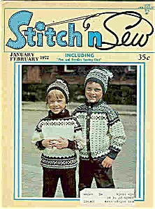 Stitch n Sew magazine - Jan./ Feb. 1972 (Image1)