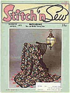 Stitch N Sew - March/april 1972