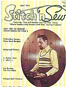 Stitch n Sew magazine - April 1974 (Image1)