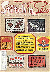 Stitch n Sew - June 1978 (Image1)