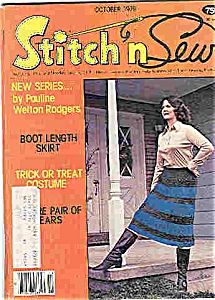 Stitch n sew magazine - October 1979 (Image1)