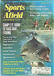 Sports Afield with Rod & Gun = January 1977 (Image1)