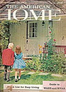 The American Home - October 1958