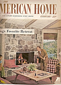 The American Home - February  1956 (Image1)