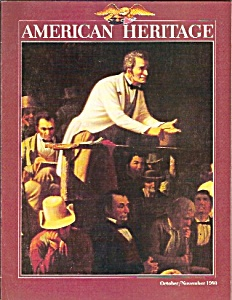 American Heritage magazine-  October/November  1980 (Image1)