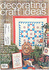 Decorating craft ideas - Feb. 1976 (Image1)