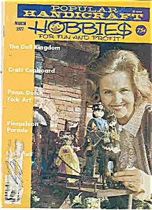 Popular  Handicraft hobbies  March 1977 (Image1)