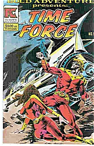 Time Force  comic -  PC comics  # 1   Nov. 1983 (Image1)