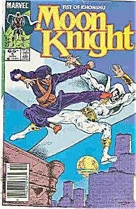 MOON KNIGHT  COMIC - Marvel comics - # 5   Nov 85 (Image1)