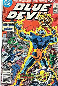 Blue Devil comics - DC comics - # 13  June 1985 (Image1)