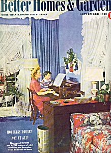 Better Homes & Gardens magazine -  September 1942 (Image1)