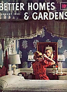 Better Homes & Gardens magazine - January 1939 (Image1)