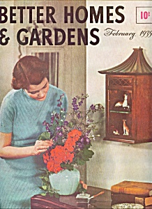 Better Homes & Gardens magazine -  February 1939 (Image1)
