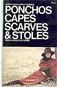 Ponchos, Capes, Scarves & Stoles From Vogue Patterns