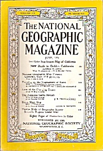 The National Geographic Magazine =- June 1954 (Image1)