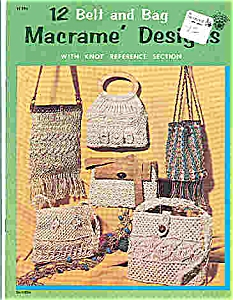 Macrame' Designs - Belt and bag (Image1)