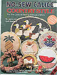 No-Sew Calico -Country style (Image1)