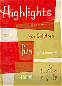 Highlights For Children (4 Books)