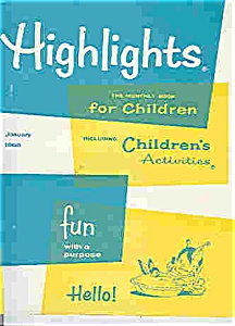 Highlights For Children Books - (4 Books)