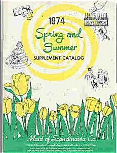 Maid of Scandinavia Co. - supplement Catalog 1974 (Image1)