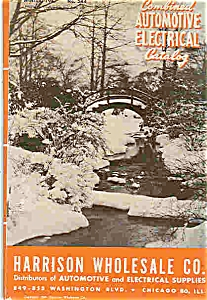 Automotive Electgrical Catalog - Winter 1947