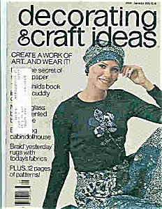Decorating & craft ideas - #01066 Sept. 1976 Magazine (Image1)
