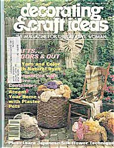 Decorating & Craft ideas - July/Aug. 1977 (Image1)
