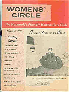 Women's Circle - August 1963 (Image1)