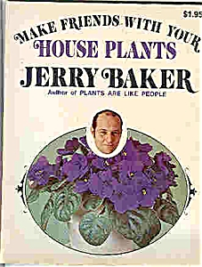 House plants by Jerry Baker -copyright 1973 (Image1)