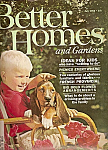 Better Homes & Gardens -  July 1962 (Image1)