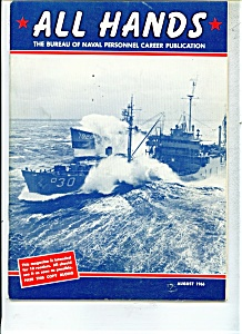 Us Navy - All Hands Magazine - August 1966
