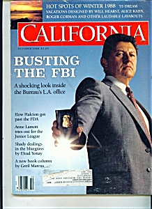 California magazine - October 1988 (Image1)