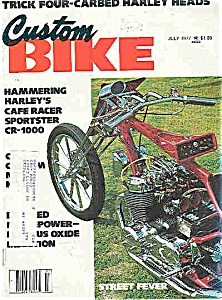 Custom Bike - July 1977 (Image1)