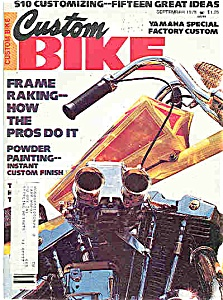 Custom Bike - September 1978 (Image1)