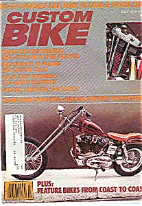 Custom Bike - July 1979 (Image1)