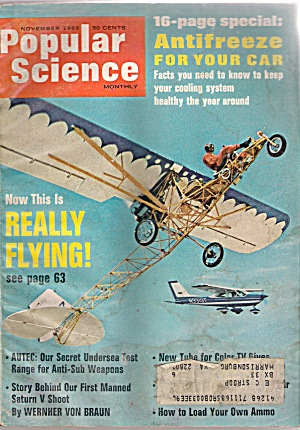Popular Science Monthly - November 1968