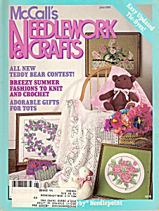 Mccall's Needlework & Crafts - June 1988