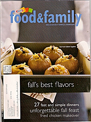 Food & family by KRAFT  - 2004 fall (Image1)