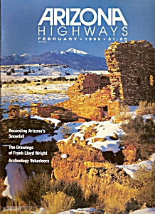 Arizona Highways -  February 1990- (Image1)