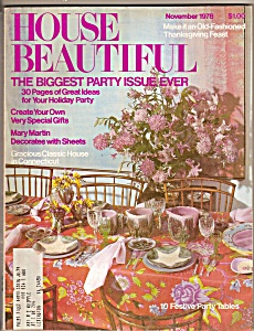 House Beautiful - November 1978