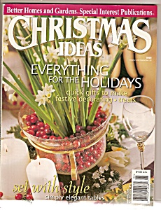 Better Homes & Gardens Christmas Ideas - 1999
