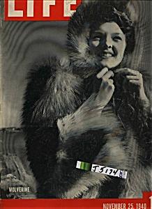 Life Magazine - November 25, 1940 (Image1)