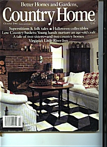 Country Living - October 1986