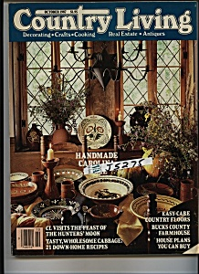 Country Living Magazine - October 1987 (Image1)