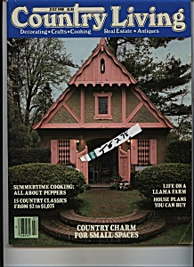 Country Living Magazine - July 1988