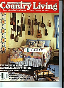 Country Living Magazine - August 1988 (Image1)