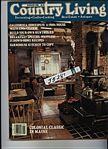 Country Living Magazine - January 1988 (Image1)