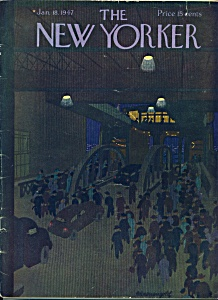 The New Yorker Magazine - Jan. 18, 1947 KRONEGOLD (Image1)